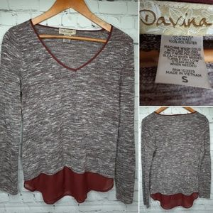 Davina sweater tunic size S